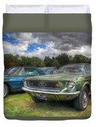68' Mustang Duvet Cover