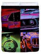 '69 Mustang Duvet Cover