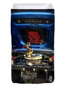 69 Mustang Duvet Cover
