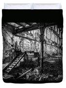 Abandoned Sugar Mill Duvet Cover