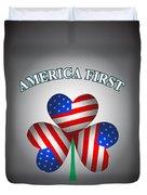 America First Ireland Forever Duvet Cover