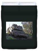 An Israel Defense Force Merkava Mark Iv Duvet Cover