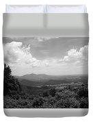 Blue Ridge Mountains - Virginia Bw 2 Duvet Cover
