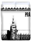 Cathedral Of St Vitus Duvet Cover