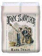 Clemens: Tom Sawyer Duvet Cover