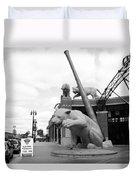 Comerica Park - Detroit Tigers Duvet Cover