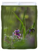 Common Lungwort Duvet Cover
