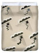 Design From Nouvelles Compositions Decoratives Duvet Cover