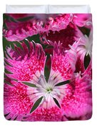 Dianthus Cross Duvet Cover
