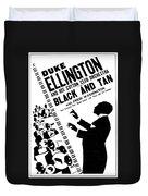 Duke Ellington (1899-1974) Duvet Cover