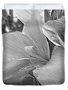 Dwarf Canna Lily Named Corsica Duvet Cover