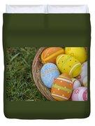 Easter Eggs Duvet Cover