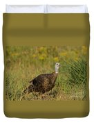 Eastern Wild Turkey Duvet Cover by Linda Freshwaters Arndt