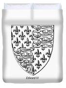 Edward IIi (1312-1377) Duvet Cover