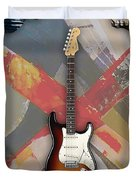 Fender Stratocaster Collection Duvet Cover