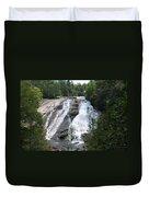 High Falls North Carolina Duvet Cover