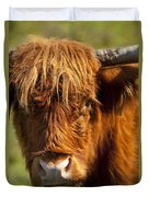 Highland Cow Duvet Cover by Brian Jannsen