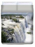 Iquazu Falls - South America Duvet Cover