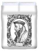 John Calvin (1509-1564) Duvet Cover