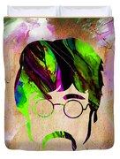 John Lennon Collection Duvet Cover