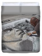 Lake Worth Street Painting Festival Duvet Cover
