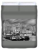 River Thames Art Duvet Cover