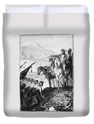 Saratoga: Surrender, 1777 Duvet Cover