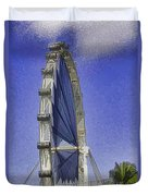 Singapore Flyer  Duvet Cover