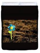 Smile Flower Duvet Cover
