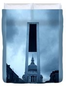 St Pauls Cathedral At London Attractions  Duvet Cover