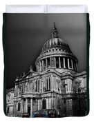 St Pauls Cathedral London Art Duvet Cover