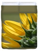 Sunflower From The Color Fashion Mix Duvet Cover