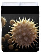Sunflower Pollen Duvet Cover