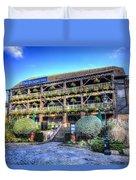 The Dickens Inn Pub London Duvet Cover