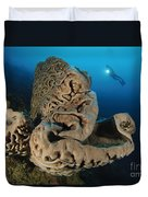 The Salvador Dali Sponge With Intricate Duvet Cover