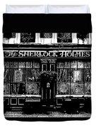 The Sherlock Holmes Pub Duvet Cover