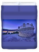 Top Of Mount Mitchell Before Sunset Duvet Cover