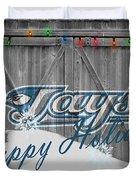 Toronto Blue Jays Duvet Cover by Joe Hamilton