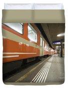 Train Station Duvet Cover