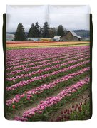Tulip Field Duvet Cover