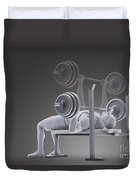 Exercise Workout Duvet Cover