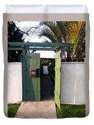 717 Gate Open Coronado California Duvet Cover