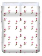 72 Dancing Pink Magnolias Panel Duvet Cover