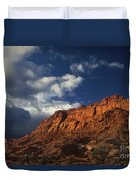 clearing storm waterpocket fold capitol reef NP Duvet Cover