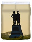 73rd Ny Infantry 2nd Fire Zouaves Duvet Cover