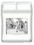 Benjamin Franklin (1706-1790) Duvet Cover
