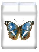 78 Apatura Iris Butterfly Duvet Cover by Amy Kirkpatrick