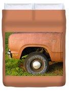 78 Dodge Power Wagon  Duvet Cover
