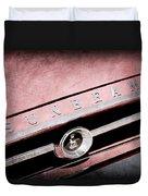 1965 Sunbeam Tiger Grille Emblem Duvet Cover