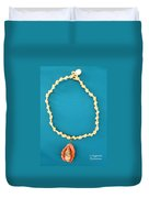 Aphrodite Gamelioi Necklace Duvet Cover